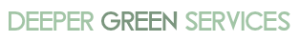 logo - deeper green services
